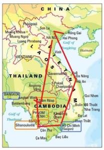 Sør-Øst Asia: Vietnam, Kambodsja og Laos