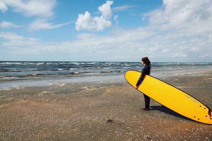 Surfing på den svenskeriviera