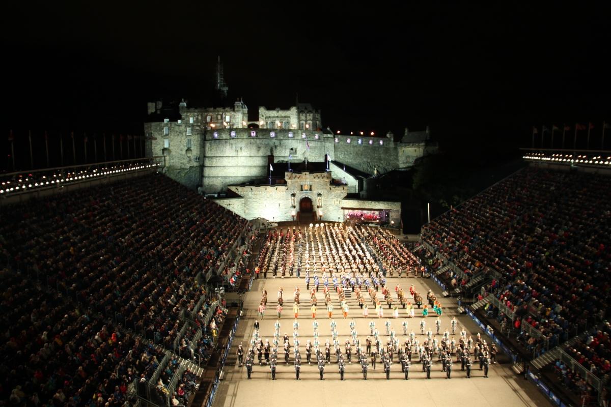 Festivalbyen Edinburgh