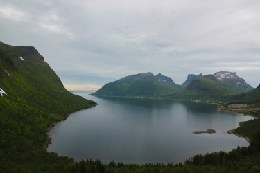 Utsikt over Ersfjord