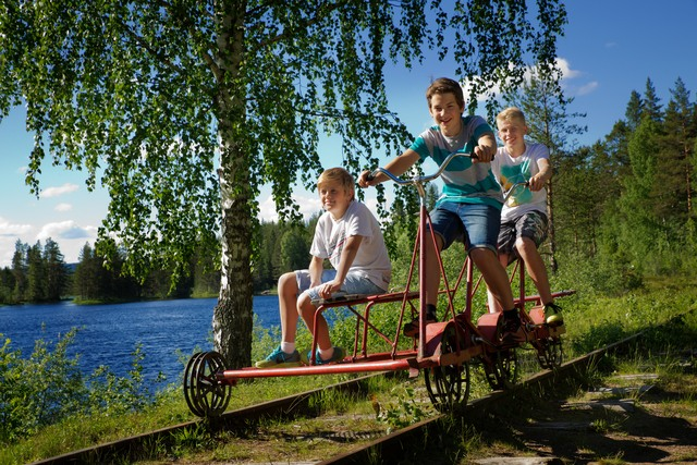 Dalarna, Cykla Dressin, Foto. David Lundberg