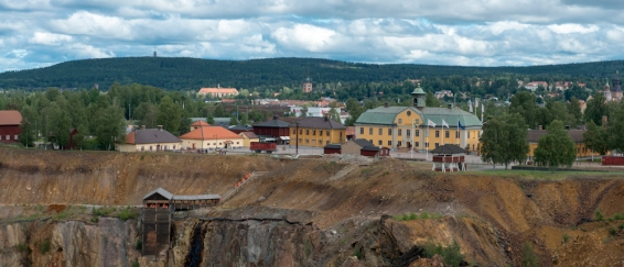 Dalarna, Falu gruva Foto. Jonas Lindgren