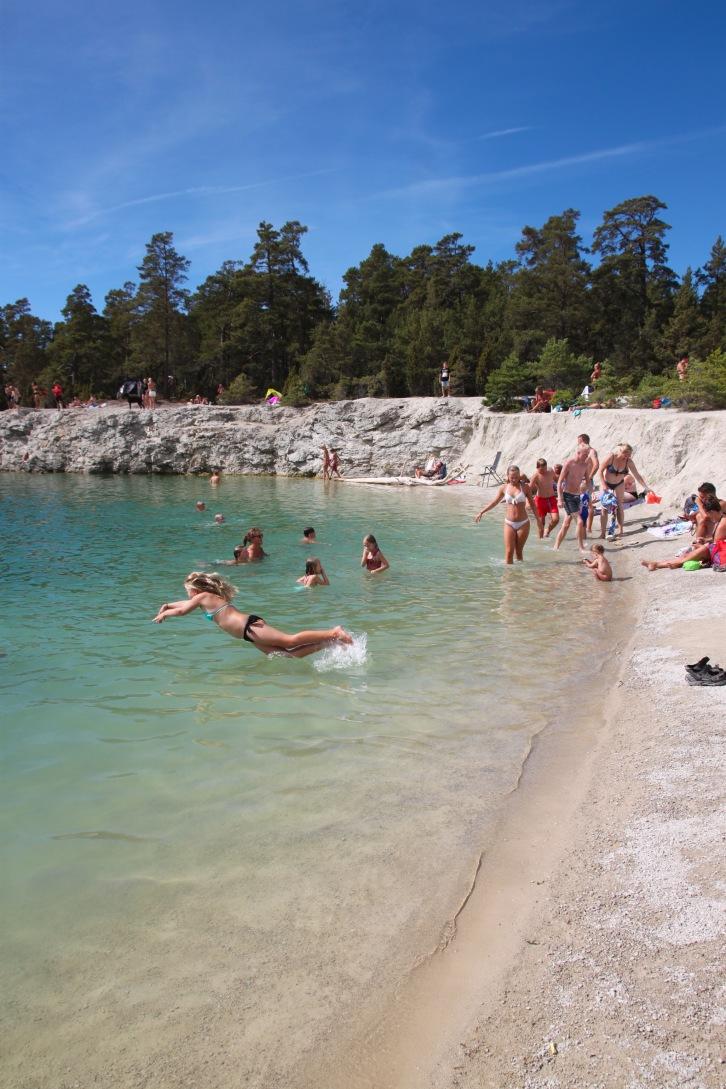 Gotland - Foto Hanne Marit Tobiassen Den blå Lagun