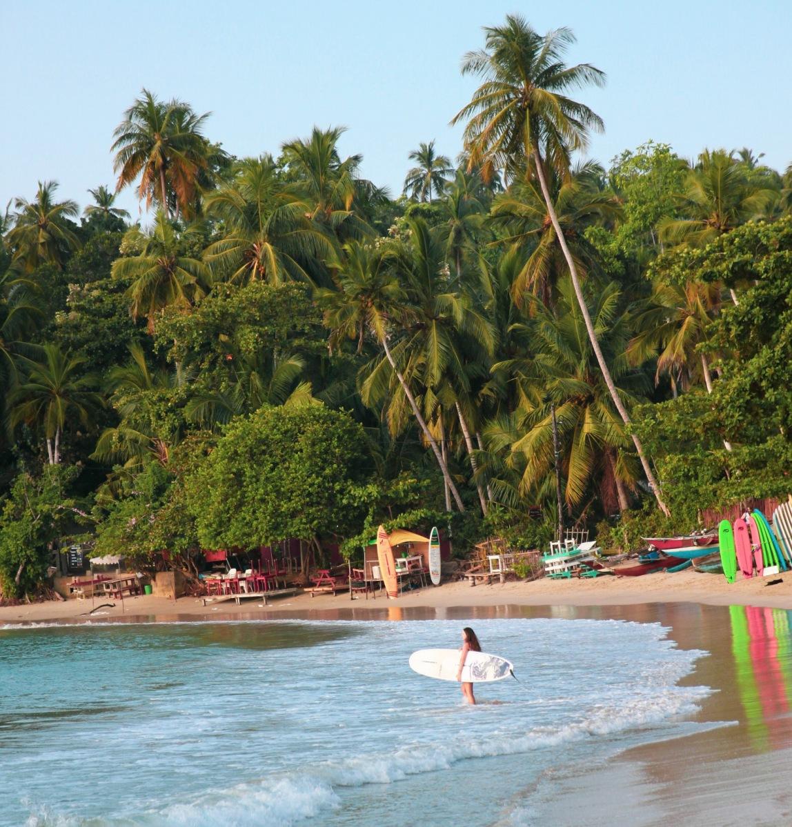 Avslappende kystferie på Sri Lanka